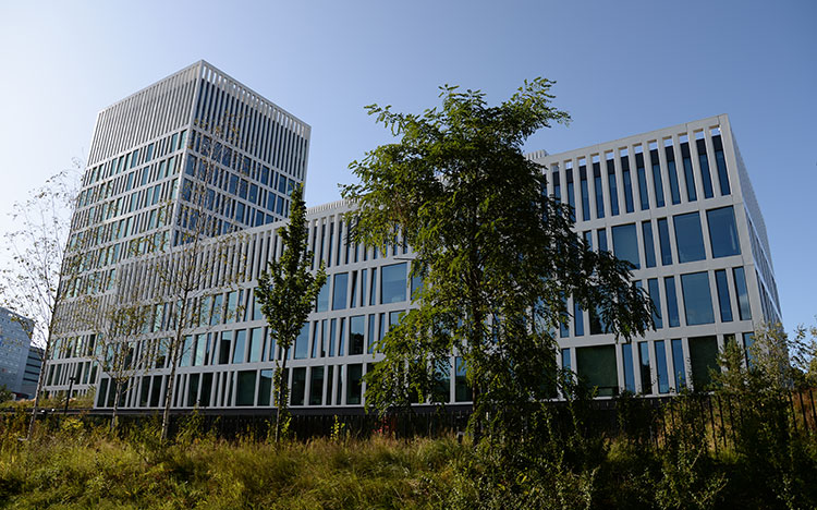 Eurojust building in The Hague