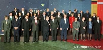 1999 European Council meeting in Tampere, FI (© EU Council)