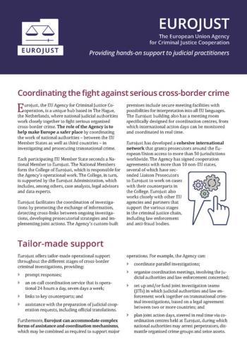 Cover leaflet