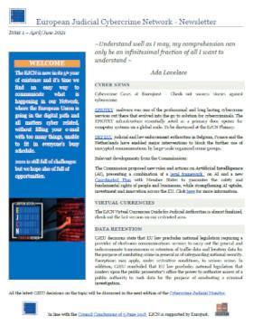 Cover of EJCN Newsletter