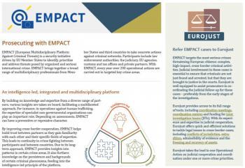 Eurojust EMPACT leaflet