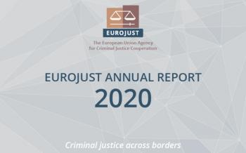 Cover of the Eurojust Annual Report 2020
