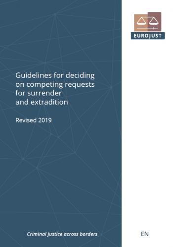 Cover of Guidelines for deciding on competing requests for surrender and extradition