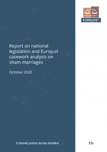 Report on national legislation and Eurojust casework analysis on sham marriages