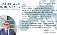 EU Justice and Home Affairs agencies meeting, 20/11/2020. Statement by Eurojust President