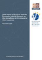 Joint report of Eurojust and the European Judicial Network on the extradition of EU citizens to third countries